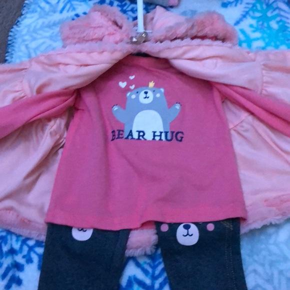 A cute bear outfit
